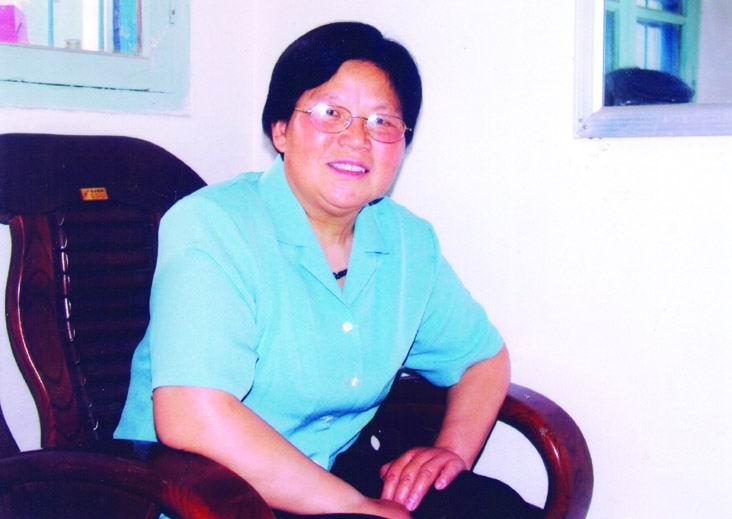 白血病康复患者杨芳
