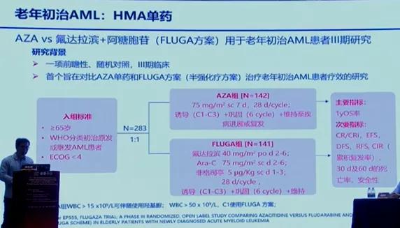 阿扎胞苷用于急性髓系白血病的最